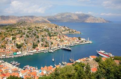 La bellissima isola di Symi