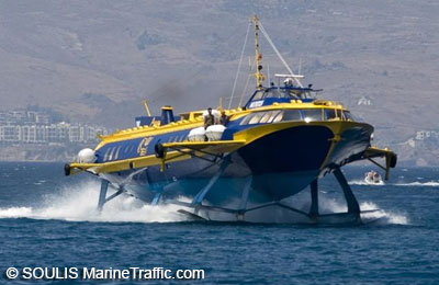 Prenota traghetti Dodecanese Flying Dolphins